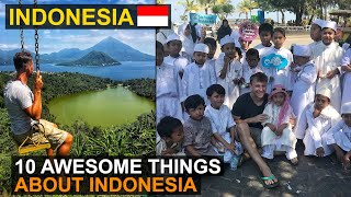 🇮🇩 10 Awesome Things About Indonesia 🇮🇩