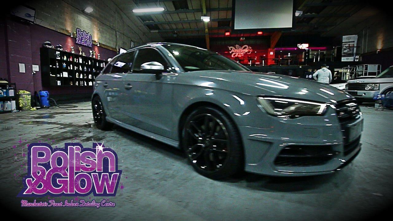 Audi S3 Transformation To Nardo Grey P G Customs