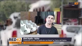 Abel Ayala - actor.