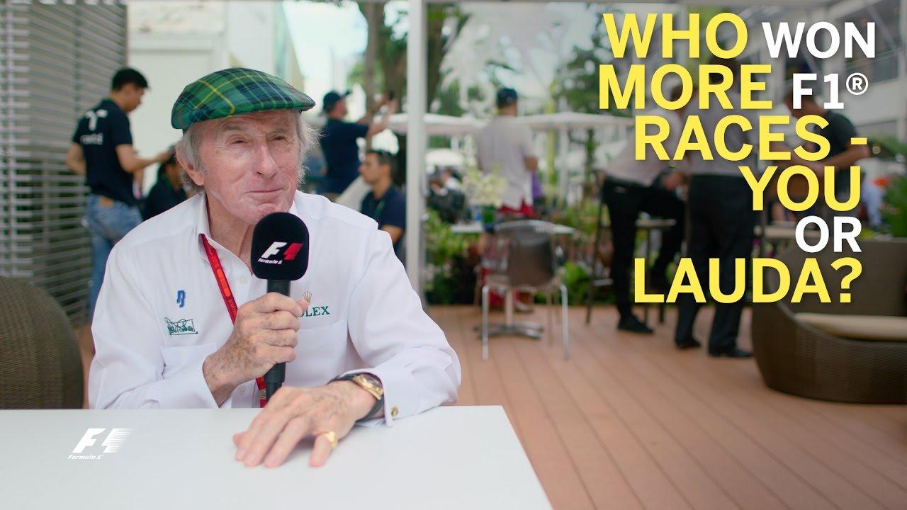 Grill The Grid - Sir Jackie Stewart