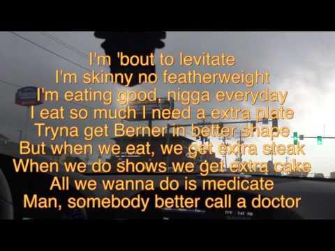 Levitate Berner Lyrics ft (Quez)