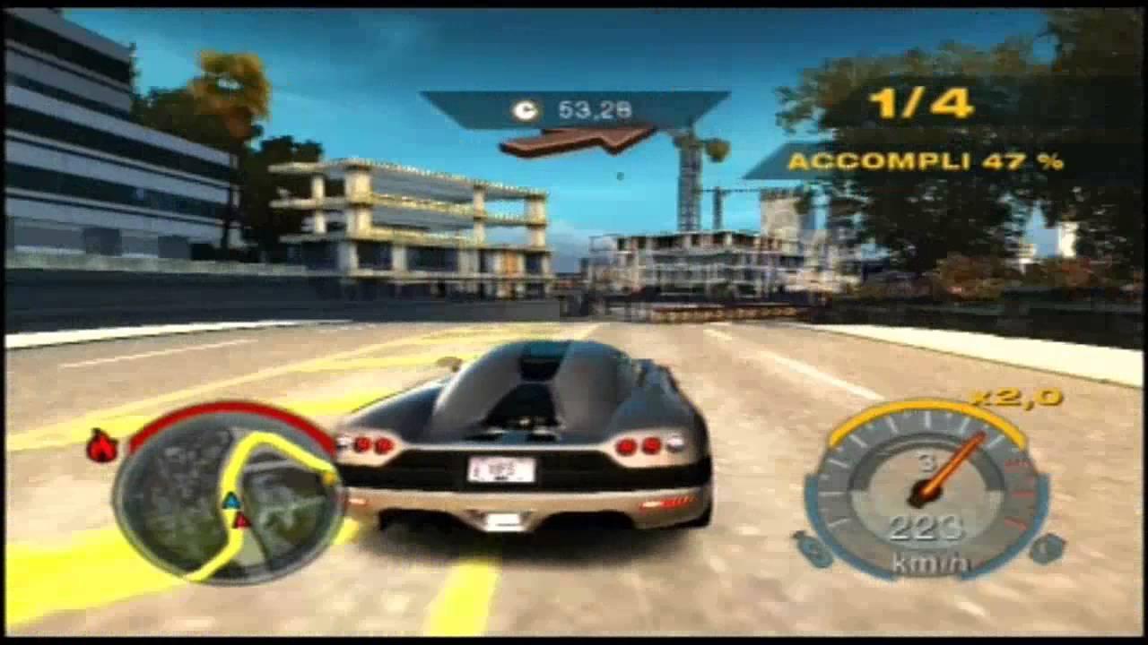 PS2 NFS Undercover Career Mode #098 Course de Belletown ...