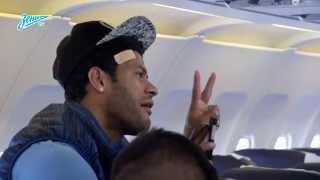 Бой подушками в самолете «Зенита»!
