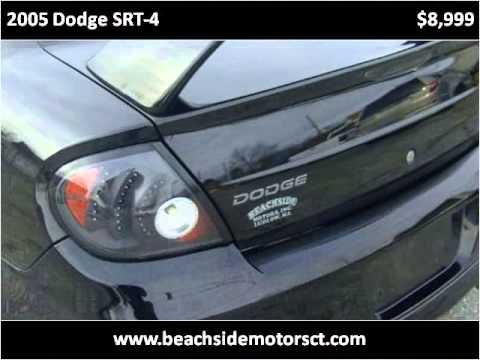2005 dodge srt 4 used cars ludlow ma youtube for Beachside motors ludlow ma