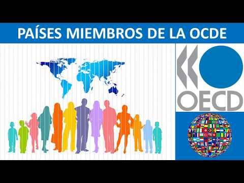 Países OCDE.  Los 35 países miembros de la OCDE