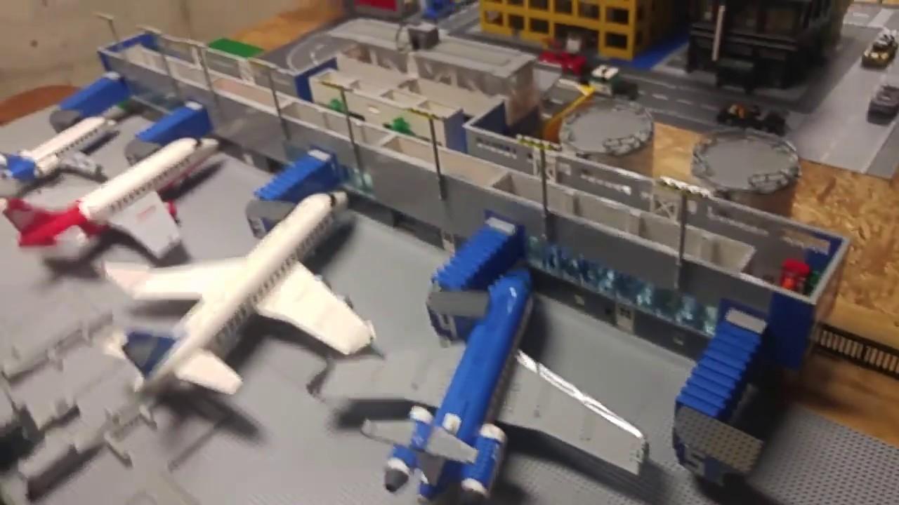 Lego Airport Moc Youtube
