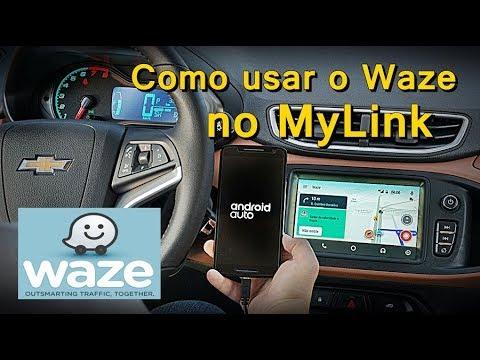 Como Usar Waze no MyLink - Waze com MyLink - MyLink com Waze - FVM