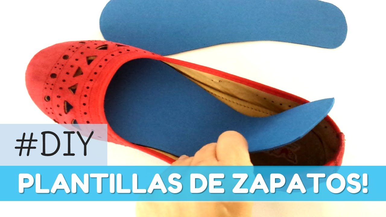 Cómo hacer plantillas para los zapatos | facilisimo.com - YouTube