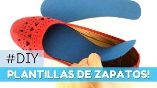 Cómo hacer plantillas para los zapatos | facilisimo.com