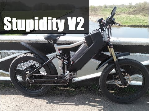 Insane eBike update (V2 of the most dangerous and unsafe bike ever) - loads of changes and a VLOG