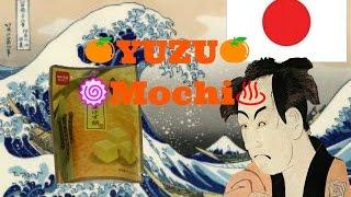 YUZU mochi snack(。◕ˇдˇ◕。)/  Have you ever eaten?