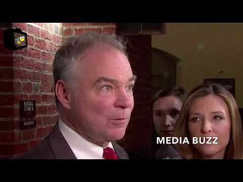 Senator Tim Kaine Says Dreamers ARE NOT illegal Immigrants After Senate Vote 1/22/18