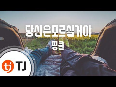 [TJ노래방] 당신은모르실거야 - 핑클 (You Wouldn't Know - Fin.K.L) / TJ Karaoke
