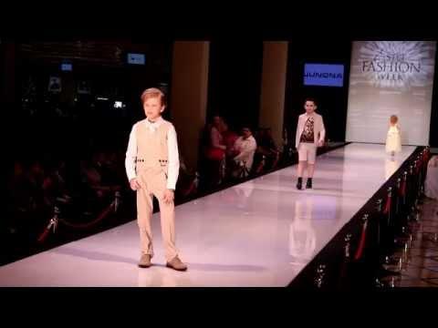 Модные наряды и костюмы на выпускной в саду для мальчика бренда Junona Fashion / Детский показ мод