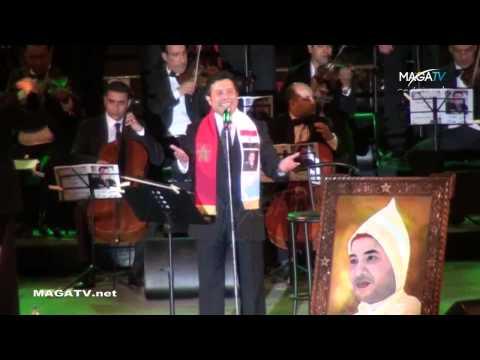 "Hany Chakir ""ESSAHRA MAGHRIBIYA""- Festival TIMITAR AGADIR 2014 ""هاني شاكر ""الصحراء مغربية"