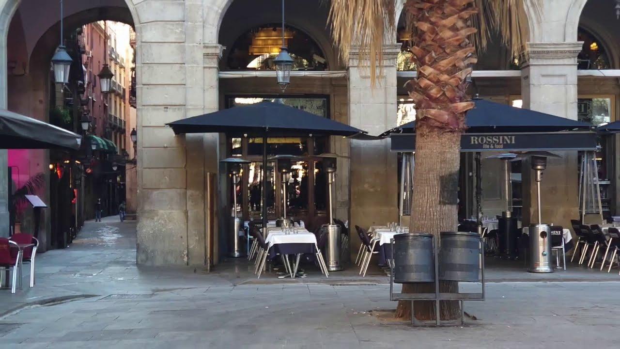 世界の路地写真 バルセロナ