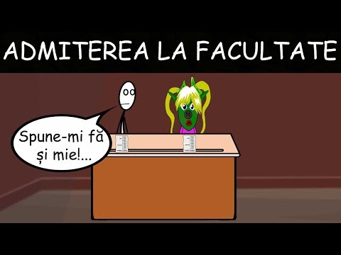 LA FACULTATE: Examenul De Admitere