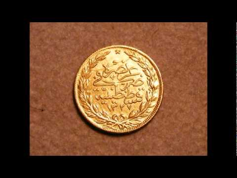 Arabic Gold Coin I Need Translation