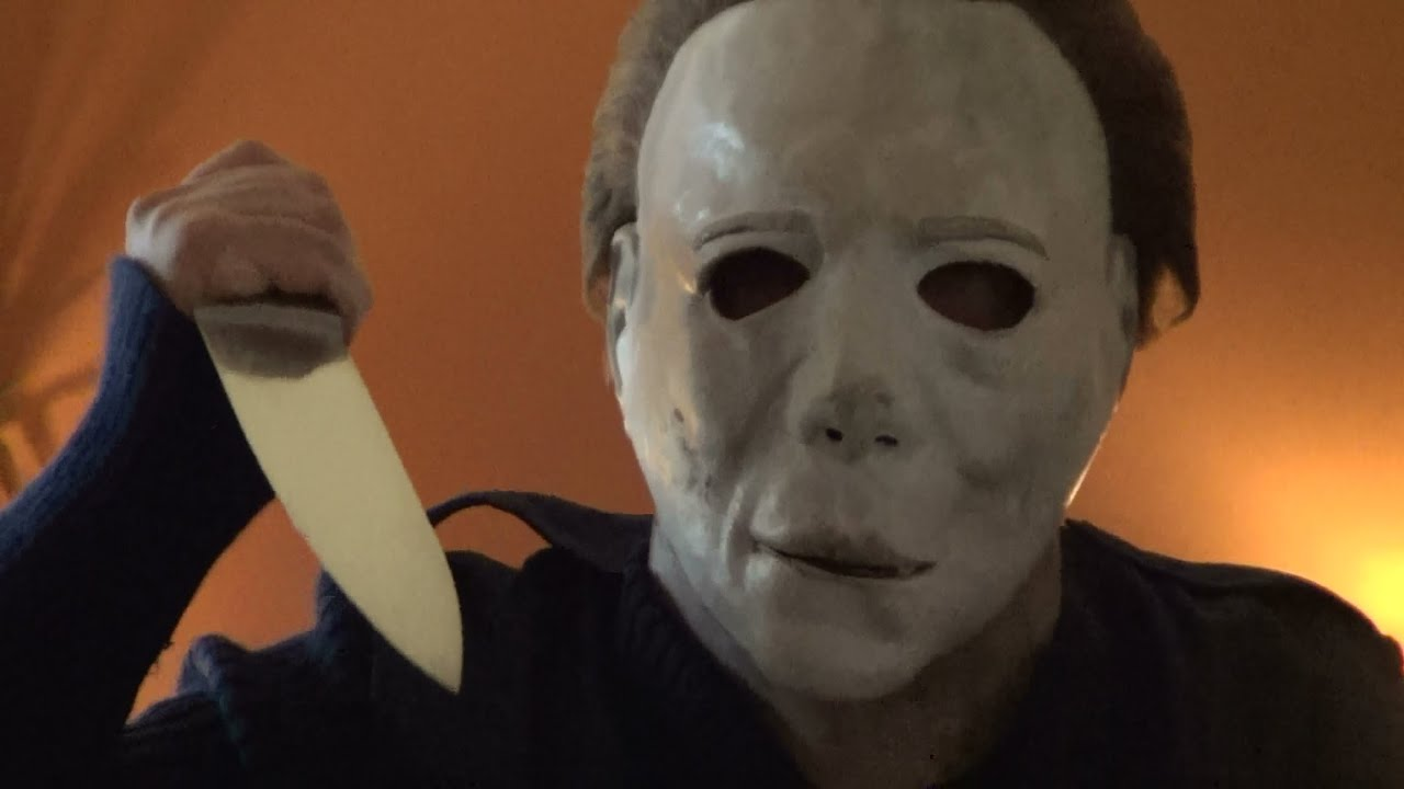 real michael myers mask. - youtube