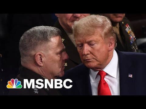 Military Officials Were In A 'Near Panic' After Trump Lost