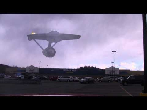 The USS Enterprise was over my Wal Mart!