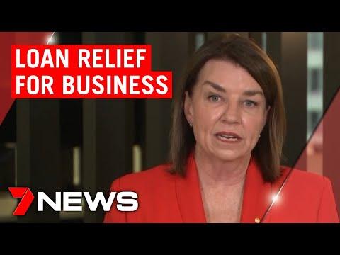 Coronavirus: Banks Announce Loan Relief For Businesses | 7NEWS