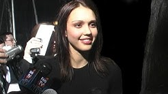 Jessica Alba on Awards Shows & NYC Stalker @ TV Guide Awards 2001