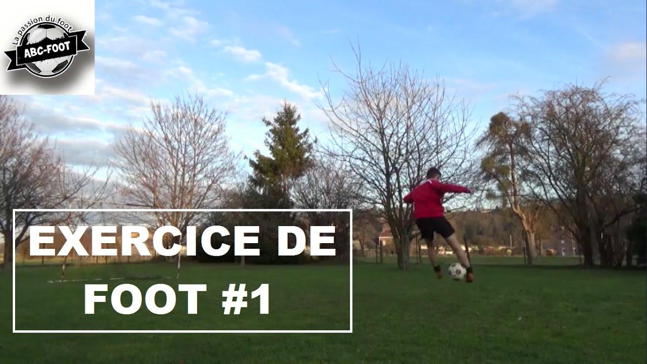 Exercice De Foot #1 La maîtrise du ballon - YouTube