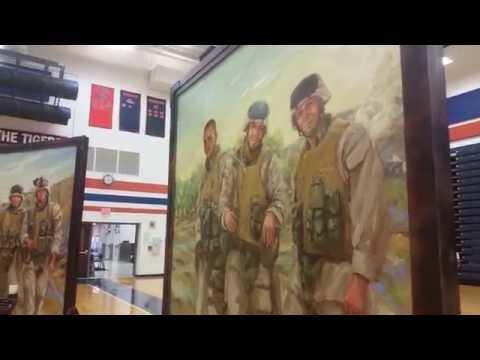 Eyes of Freedom Memorial Exhibit features Galion war hero