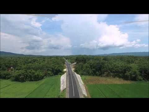 Dron jalan baru Lingkar sumpiuh kab banyumas