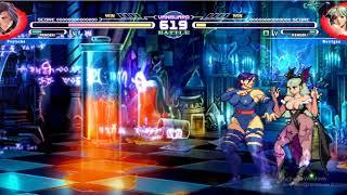 Mugen Battle Climax v.4 [MUGEN] - Psylocke vs Morrigan