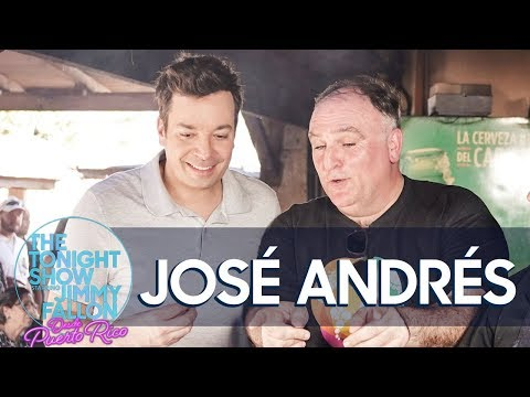 Jimmy and Chef José Andrés Talk Puerto Ricos Food and Recovery