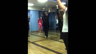 Занятия по азербайджанским танцам...