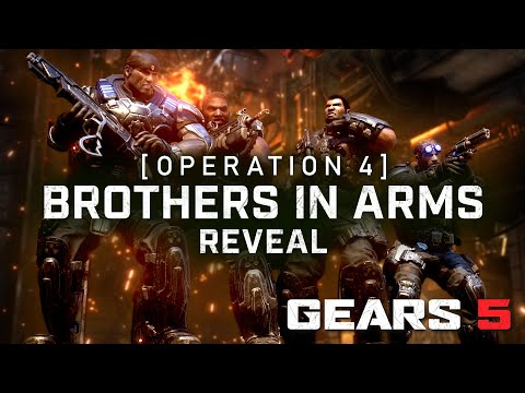 Gears 5 Operation 4: Brothers In Arms Trailer