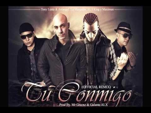 Arcangel Ft. Tony Lenta Y J King & Maximan - Tu Conmigo (Official Remix) ★ Reggaeton 2012 ★
