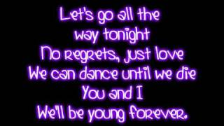 Repeat youtube video Teenage Dream - Katy Perry Lyrics