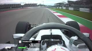 Lewis Hamilton's Pole Lap | 2018 United States Grand Prix