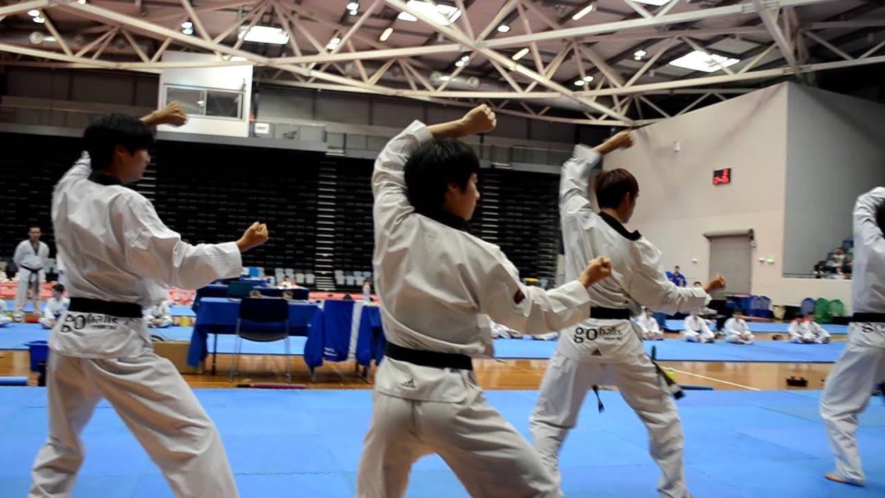 Hall's Taekwondo December 2012 Black Belt Grading