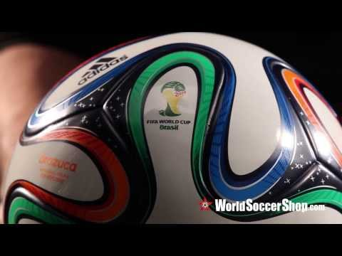 Adidas Brazuca 2014 FIFA World Cup Top Replique Ball - Unboxing