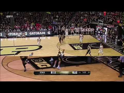 "Most underrated player in the country Purdue's Vince Edwards ""My Time"""