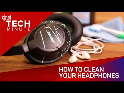 How to clean your headphones (Tech Minute)