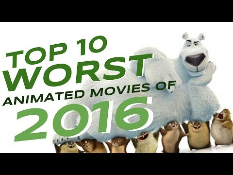 Top 10 Worst Animated Movies of 2016