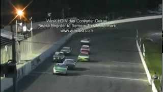 Caraway Speedway U Car Race 4-14-12 2nd half #46 ben hanks wins