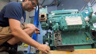 Detroit Diesel heat exchangers: cleaning and installing the cores