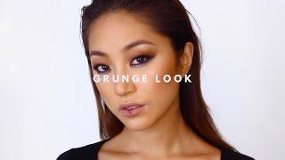 GRUNGE MAKEUP LOOK | dahyeshka