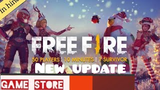 Free Fire new update snow map