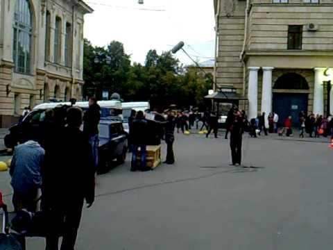Так снимают кино в Санкт-Петербурге