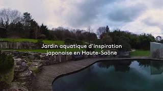 Acorus : des jardins aquatiques d'inspiration japonaise en Haute-Saône (360°)