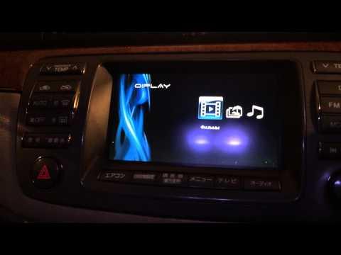 Дополнительные мультимедиа устройства в Toyota Brevis