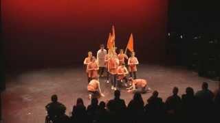 Ganesh Vandana(Ganpati Folk dance)  performed by International dancers in The choreographer